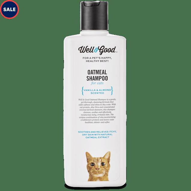 Well & Good Oatmeal Cat Shampoo, 8 oz. - Carousel image #1