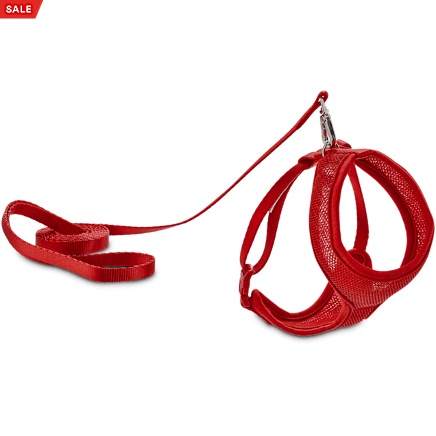 Good2Go Red Mesh Cat Harness & Lead Set - Carousel image #1