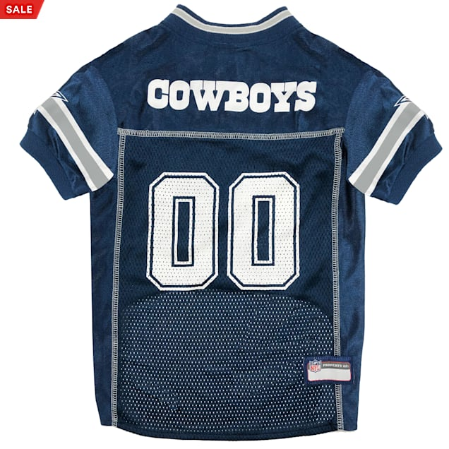 Pets First Dallas Cowboys NFL Mesh Pet Jersey, X-Small - Carousel image #1