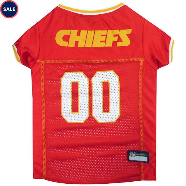 Pets First Kansas City Chiefs NFL Mesh Pet Jersey, X-Small - Carousel image #1
