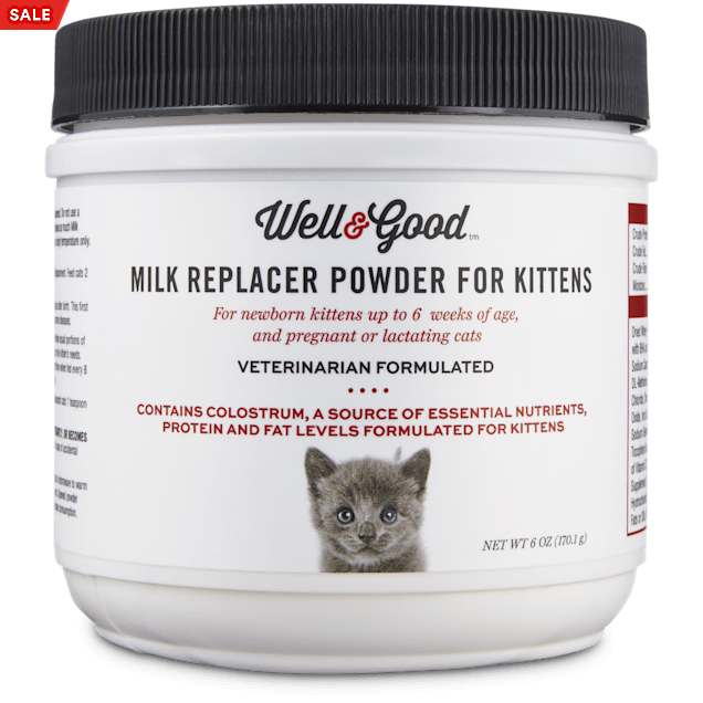 Well & Good Milk Replacer for Kittens, 6 OZ - Carousel image #1