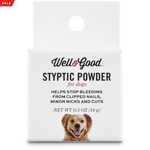 Well & Good Styptic Powder for Dogs, 0.5 OZ - Carousel image #1