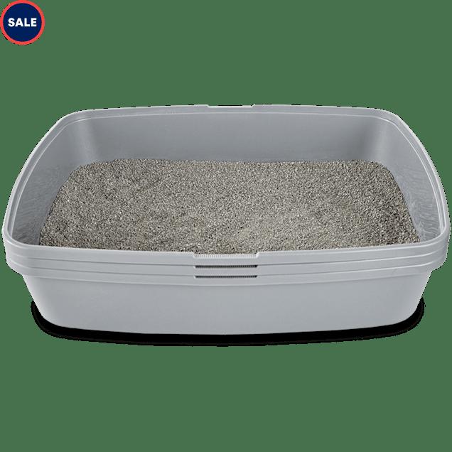 "So Phresh Sifting Cat Litter Box in Grey, 19.75"" L x 15.13"" W x 9.5"" H - Carousel image #1"