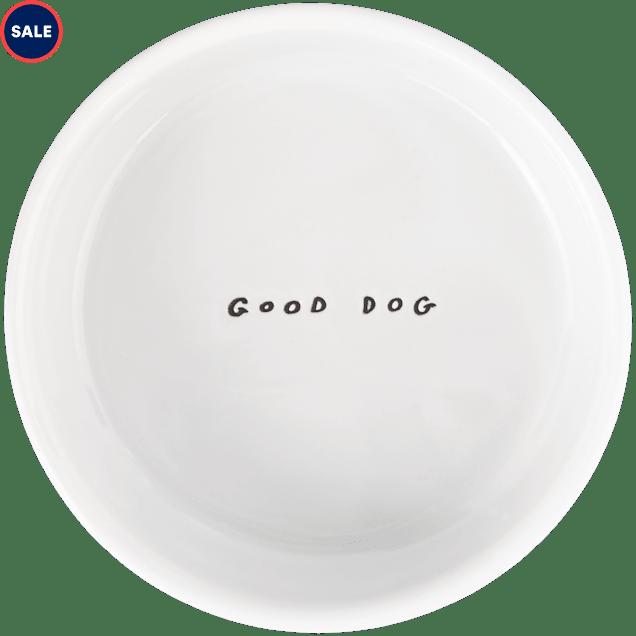 Harmony Good Dog Ceramic Dog Bowl, 1 Cup - Carousel image #1