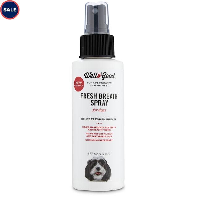 Well & Good Dog Breath Spray, 4 oz - Carousel image #1