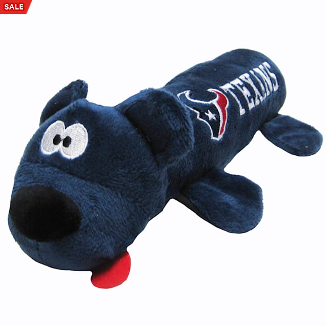 """Pets First Houston Texans Tube Toy For Dogs, 11"""" - Carousel image #1"""