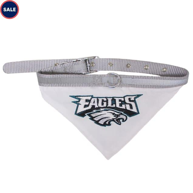 Pets First Philadelphia Eagles Collar Bandana, Small - Carousel image #1