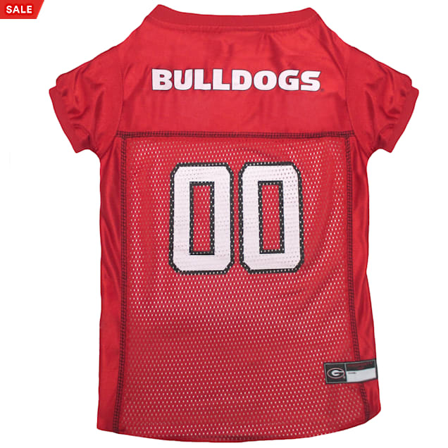 Pets First Georgia Bulldogs NCAA Mesh Jersey for Dogs, X-Small - Carousel image #1