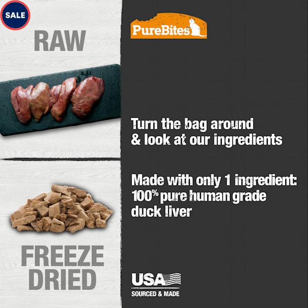 PureBites Freeze Dried Duck Cat Treats, 1.05 oz. - Carousel image #1