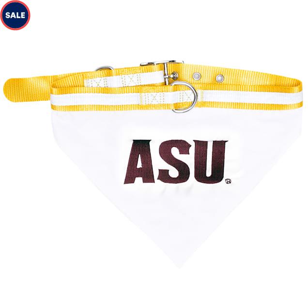 Pets First Arizona State Sun Devils NCAA Dog Collar Bandana, Small - Carousel image #1