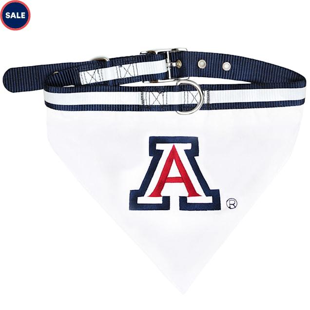 Pets First Arizona Wildcats NCAA Dog Collar Bandana, Small - Carousel image #1