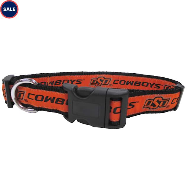 Pets First Oklahoma State Cowboys NCAA Dog Collar, Small - Carousel image #1