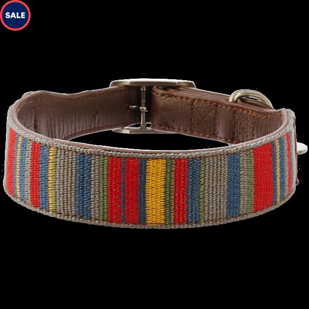 Bond & Co. Multi-Stripe Dog collar, For Neck Sizes 18-21, Large/Extra Large - Carousel image #1
