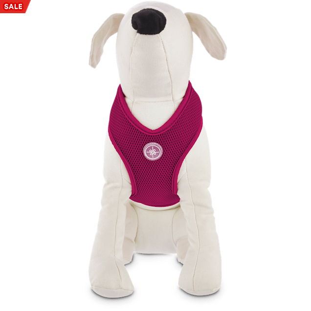 Good2Go Hot Pink Mesh Dog Harness, Large - Carousel image #1