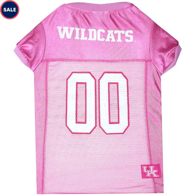 Pets First Kentucky Wildcats Pink Jersey, X-Small - Carousel image #1