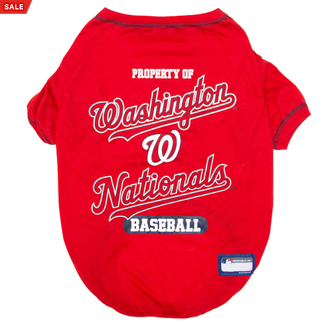 Pets First Washington Nationals T-Shirt, X-Small - Carousel image #1