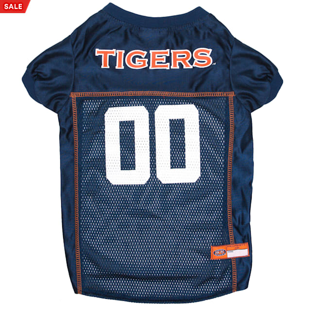 Pets First Auburn Tigers NCAA Mesh Jersey for Dogs, X-Small - Carousel image #1