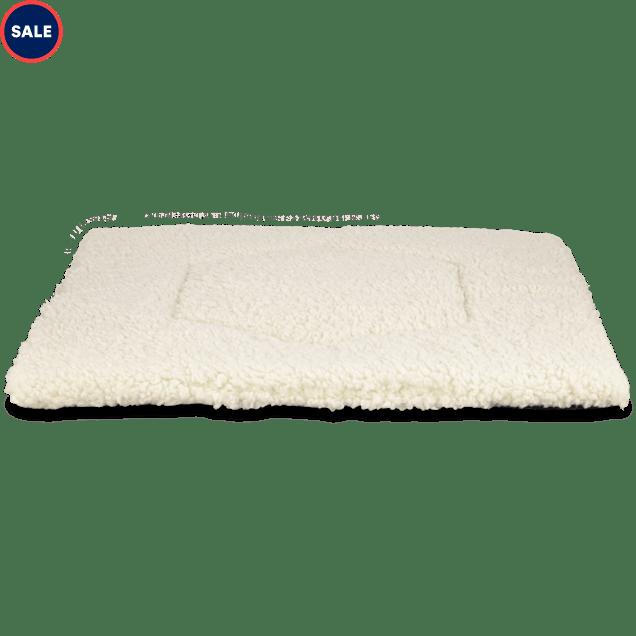 "Harmony Cozy Cat Mat in Cream, 18"" L x 18"" W - Carousel image #1"
