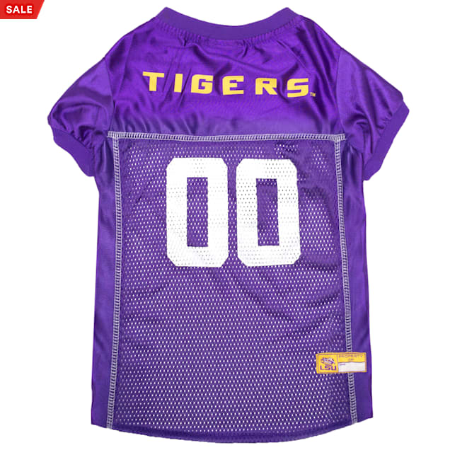Pets First LSU Tigers NCAA Mesh Jersey for Dogs, X-Small - Carousel image #1