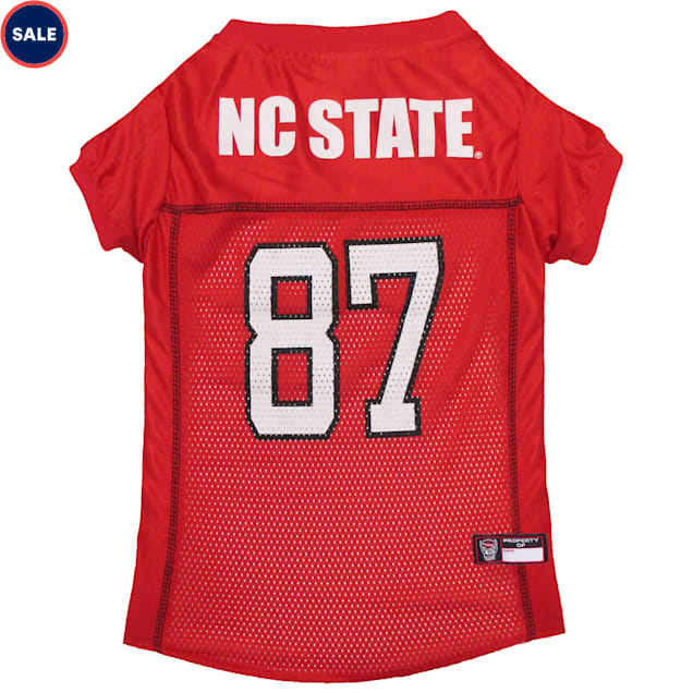 Pets First NC State Wolfpack NCAA Mesh Jersey for Dogs, X-Small - Carousel image #1