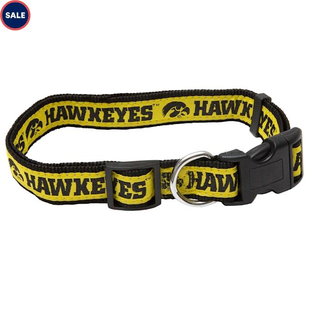 Pets First Iowa Hawkeyes NCAA Dog Collar, Small - Carousel image #1
