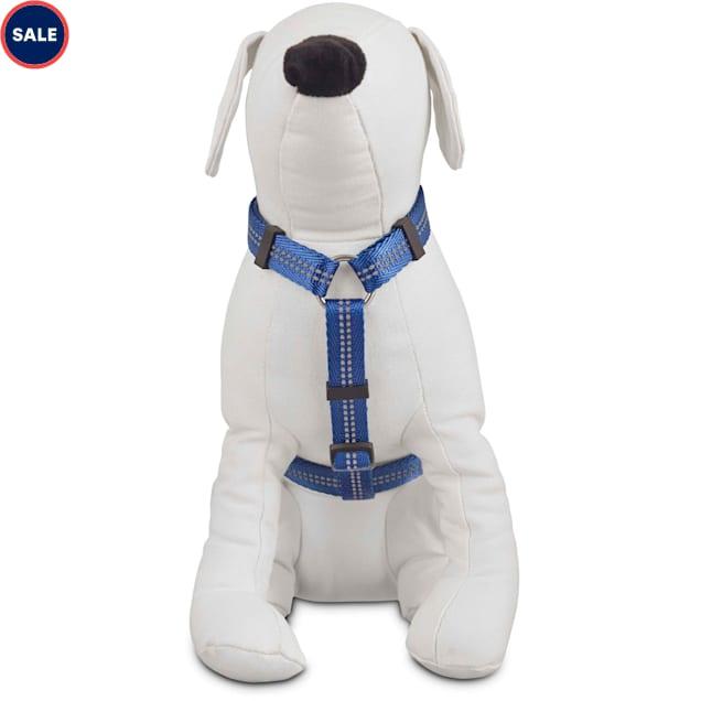 Good2Go Reflective Adjustable Dog Harness in Blue, Large/X-Large - Carousel image #1