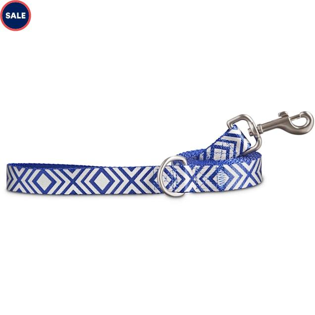 Good2Go Reflective Blue Diamond Dog Leash, 6 ft. - Carousel image #1