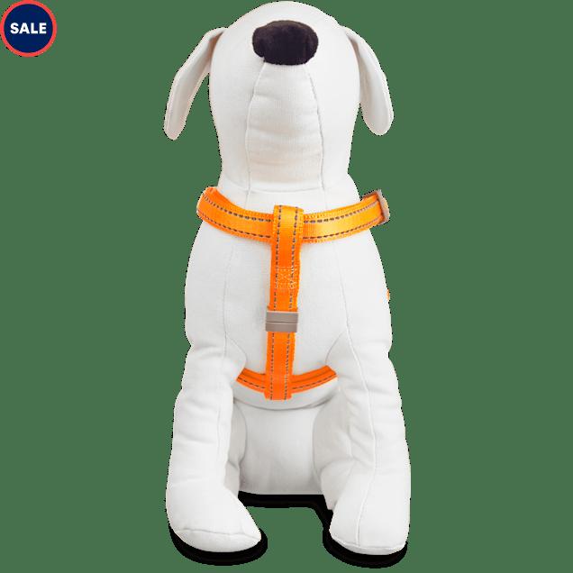 Good2Go Reflective Adjustable Padded Dog Harness in Orange, Large/X-Large - Carousel image #1