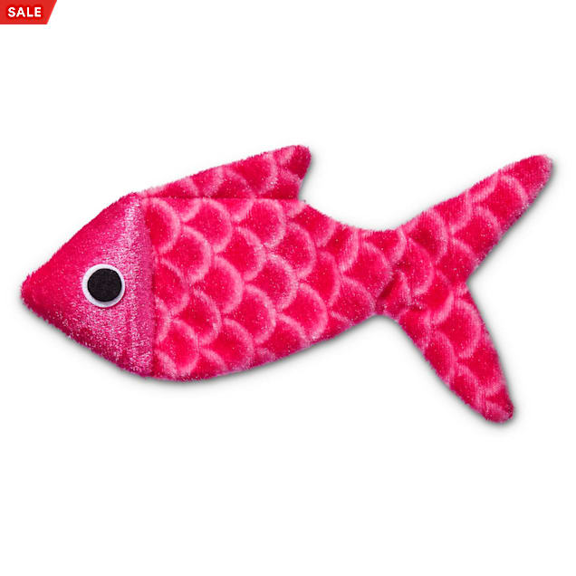 Leaps & Bounds Crinkle Fish Cat Toy - Carousel image #1