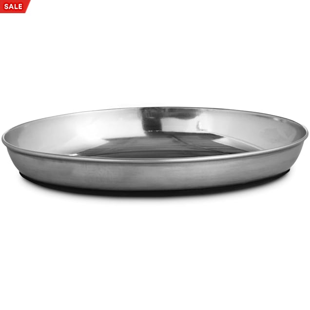 Harmony Oval Stainless Steel Cat Bowl, 1.25 Cups - Carousel image #1