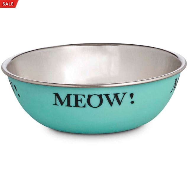 Harmony Mint Stainless Steel Cat Bowl, 1 Cup - Carousel image #1