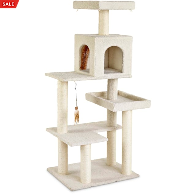 """You & Me 5-Level Cat Tree, 54"""" H - Carousel image #1"""