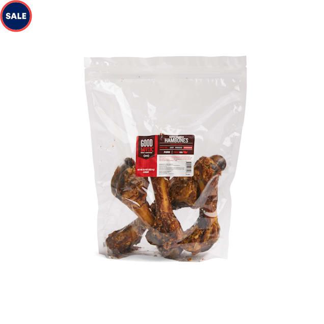 Good Lovin' Maple Smoked Hambone Dog Chew, Pack of 4 - Carousel image #1
