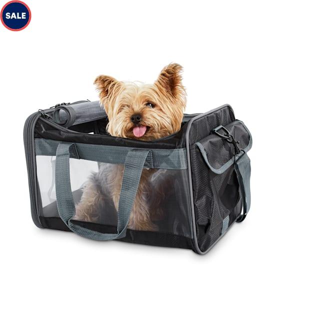 Good2Go Basic Pet Carrier in Black, Small - Carousel image #1