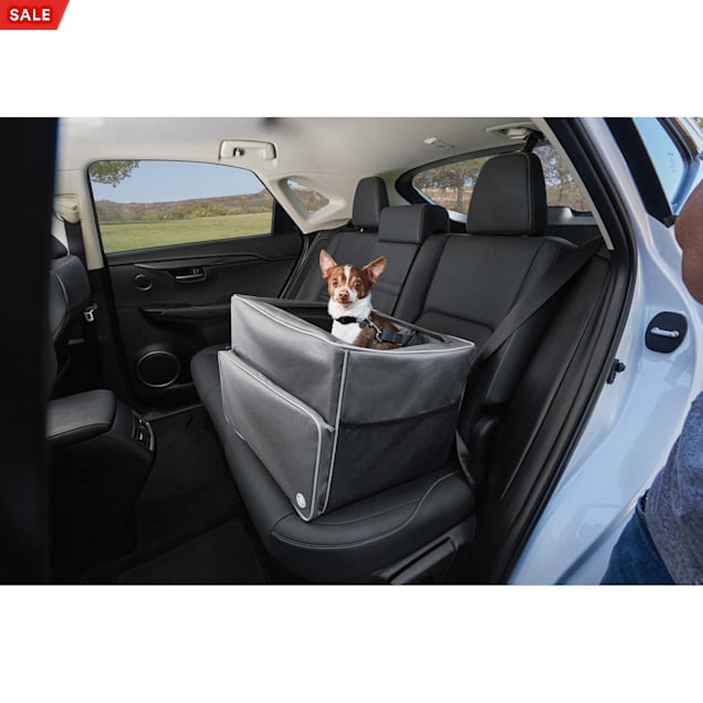 Good2Go Auto Booster Seat in Gray, 17 W x 13 H - Carousel image #1