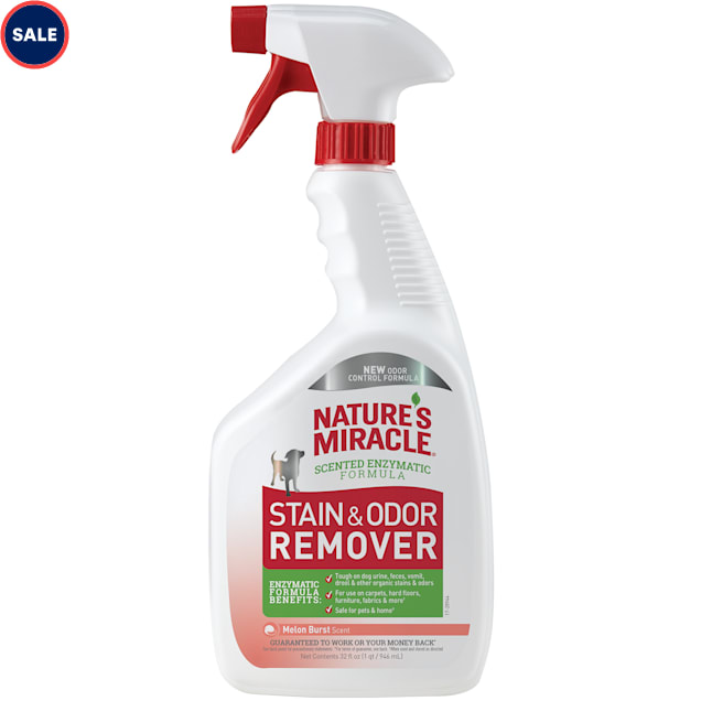 Nature's Miracle Melon Scented Stain & Odor Remover, 32 fl. oz. - Carousel image #1