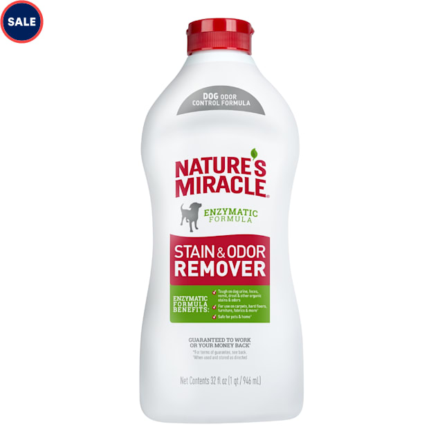 Nature's Miracle New Formula Stain & Odor Remover for Dogs, 32 fl. oz. - Carousel image #1