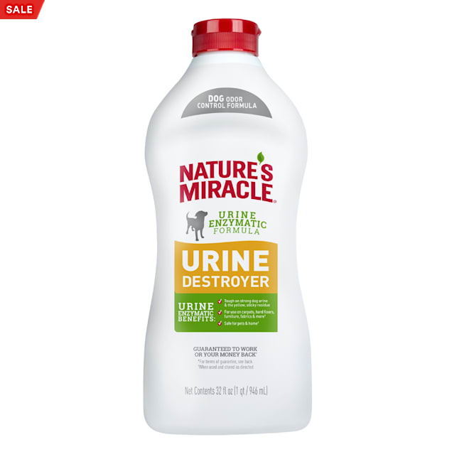 Nature's Miracle New Odor Control Formula Urine Destroyer for Dogs, 32 fl. oz. - Carousel image #1