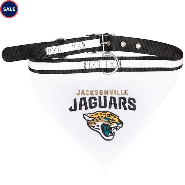 Pets First Jacksonville Jaguars Collar Bandana, Small - Carousel image #1