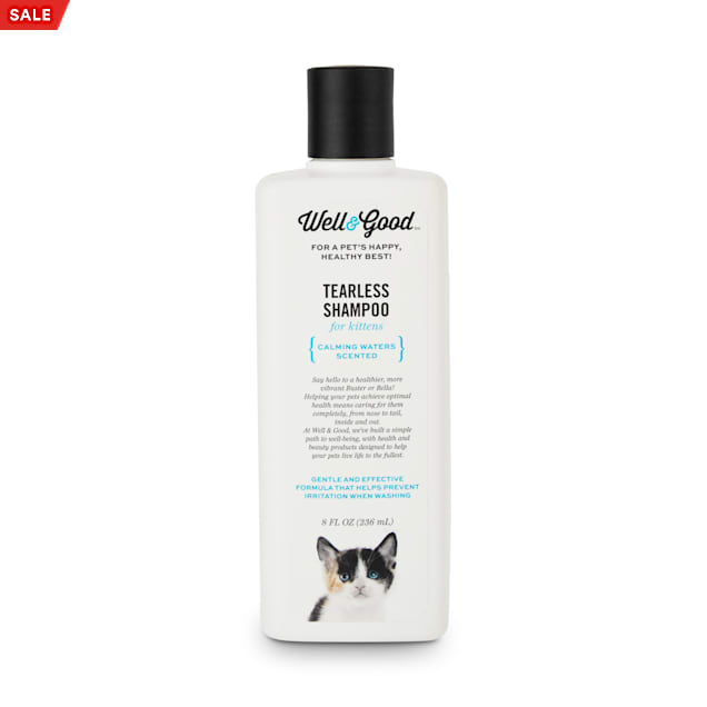 Well & Good Tearless Shampoo for Kittens, 8 fl. oz. - Carousel image #1