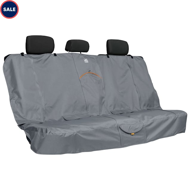 """Kurgo Extended Bench Seat Cover In Charcoal, 63"""" - Carousel image #1"""