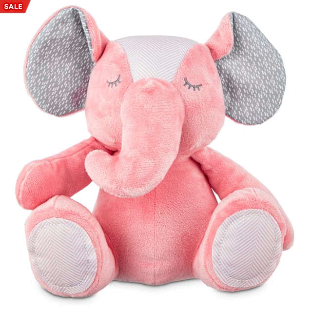 """Leaps & Bounds Little Loves Elephant Puppy Plush Toy, 9"""" - Carousel image #1"""
