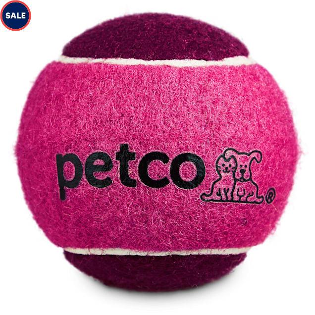 "Petco Tennis Ball Dog Toy in Pink, 2.5"" - Carousel image #1"