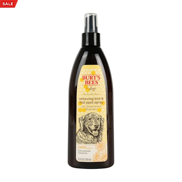 Burt's Bees Care Plus+  Relieving Itch & Hot Spot Dog Spray, 12 fl. oz. - Carousel image #1