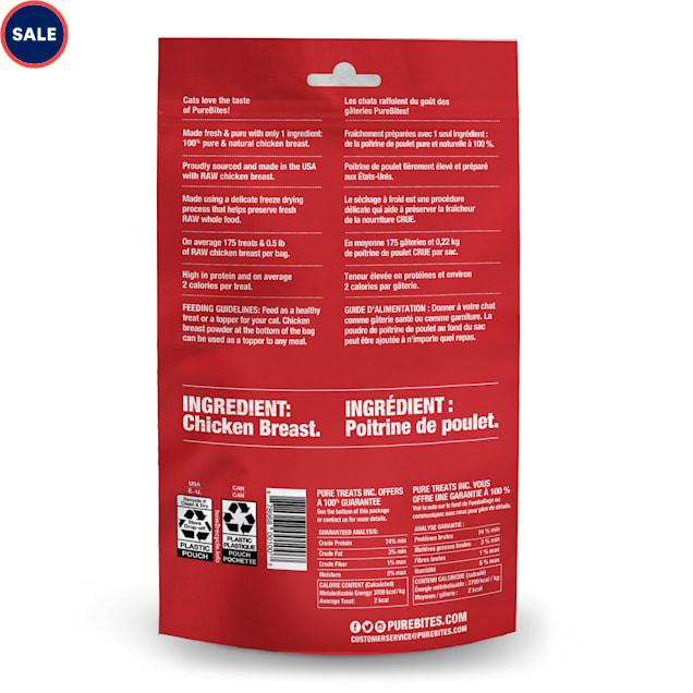 PureBites Freeze Dried Chicken Breast Cat Treats, 2.3 oz. - Carousel image #1