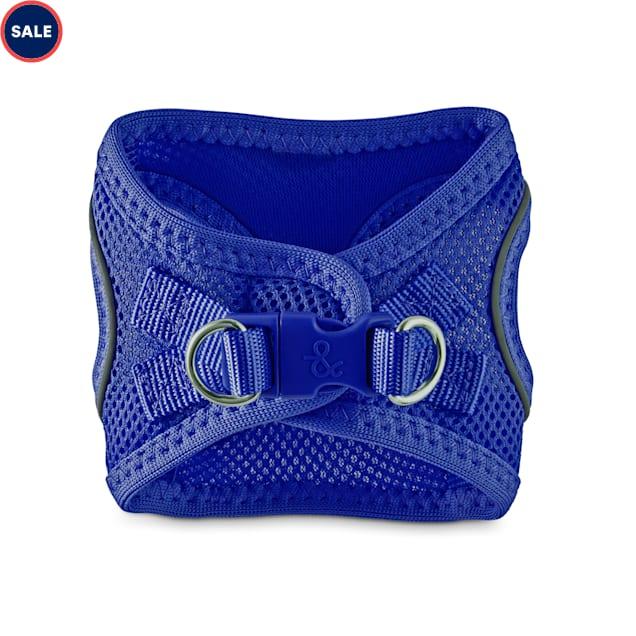 Bond & Co. Reflective Blue Mesh Dog Harness, XX-Small/X-Small - Carousel image #1