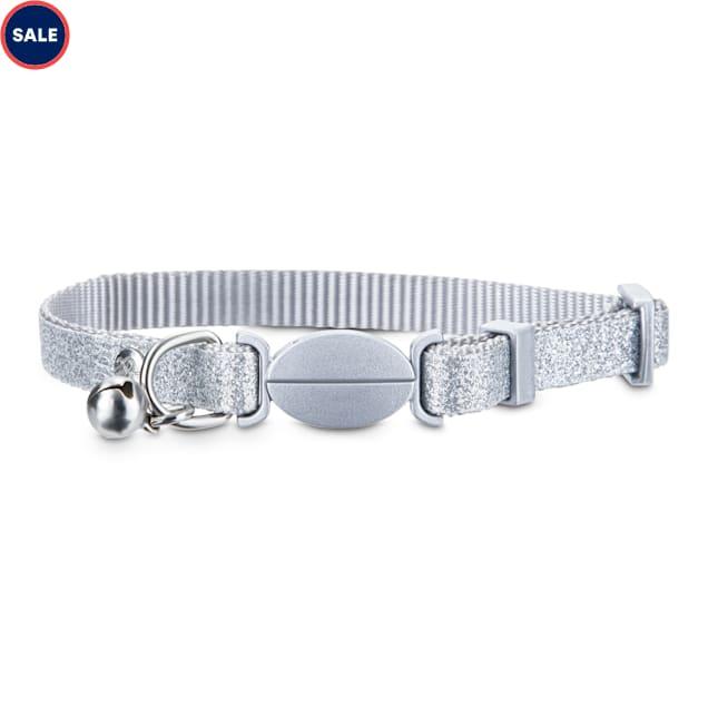 Bond & Co. Silver Sparkle Breakaway Cat Collar - Carousel image #1