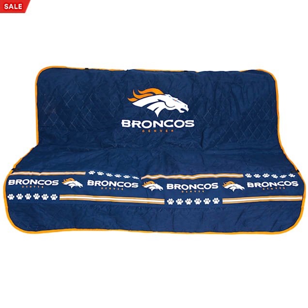 Pets First Denver Broncos Car Seat Cover - Carousel image #1