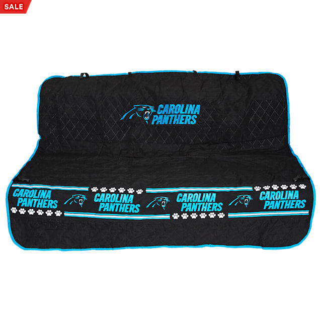 Pets First Carolina Panthers Car Seat Cover - Carousel image #1