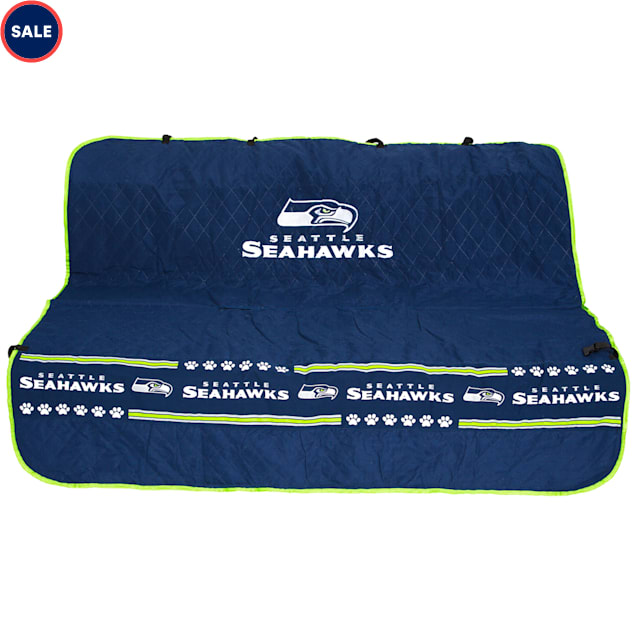Pets First Seattle Seahawks Car Seat Cover - Carousel image #1